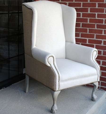 Amazing Queen Anne Wing Chair