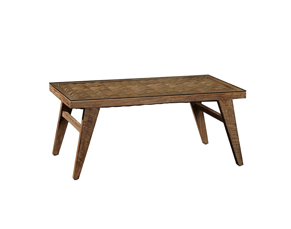 Rattan coffee table adams furniture rattan coffee table geotapseo Images