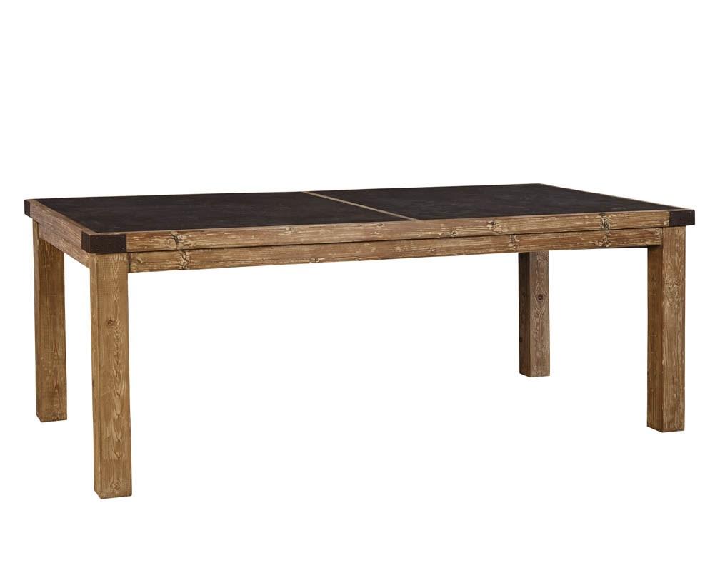 Bluestone dining table