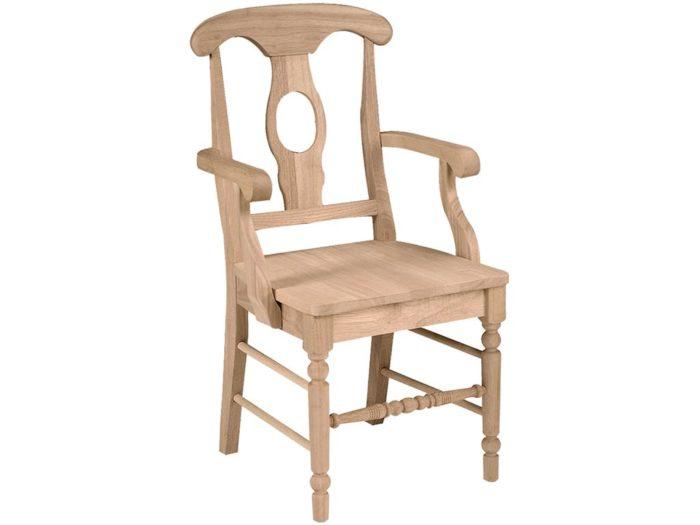 French Bullseye Arm Chair